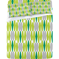 DENY Designs Home Accessories | Heather Dutton Abacus Emerald Sheet Set