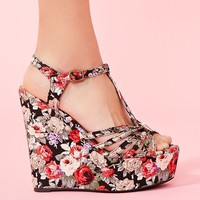Rosie Platform Wedge in What's New at Nasty Gal