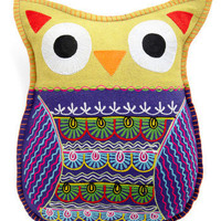 Owl Cuddly Pillow | Mod Retro Vintage Decor Accessories | ModCloth.com
