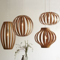 Bentwood Pendants