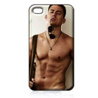 Channing Tatum Hard Case Cover Skin for Iphone 4 4s Iphone4 At&t Sprint Verizon Retail Packing: Everything Else