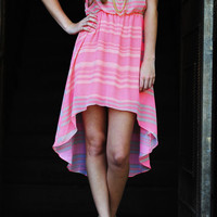 Grand Canyon Sunset Dress: Neon Pink | Hope's