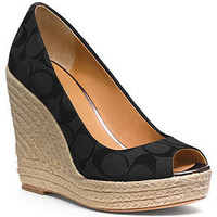 COACH MILAN WEDGE - Espadrilles & Wedges - Shoes - Macy's