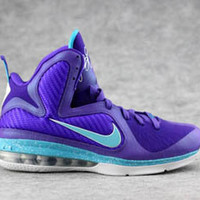 women nike lebron ix 9 purple and blue shoes buy
