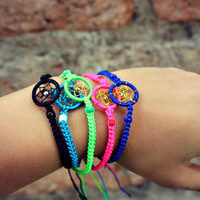 Macrame Dream Catcher Bracelet