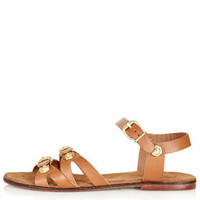 FAZE 2 Part Embellished Sandals
