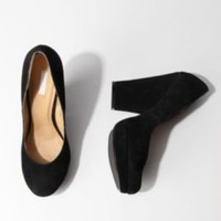 Cooperative Platform Square Heel