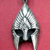 Lord of the Rings The Gondor helm charm pendant