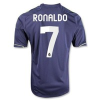 Christiano Ronaldo #7 Camiseta del Real Madrid Away Soccer Jersey 2012-13