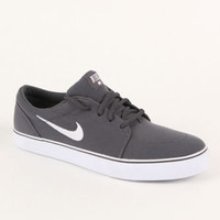 Nike Satire Canvas Charcoal Shoes at PacSun.com