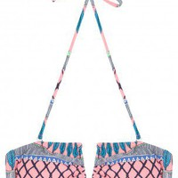 Boutique 1 - MARA HOFFMAN - Pink Frida Bikini Top | Boutique1.com