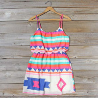 Native Sea Dress, Sweet Women&#x27;s Bohemian Clothing