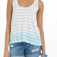 Dip-Dye Striations Tank
