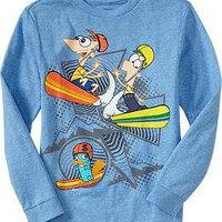 Boys Disney Phineas &amp; Ferb Tees | Old Navy