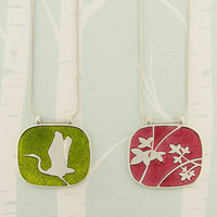LAVISHY Enamel Reversible Necklaces