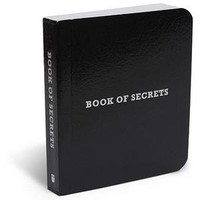 ThinkGeek :: Book of Secrets