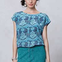 Anthropologie - Inked Print Top