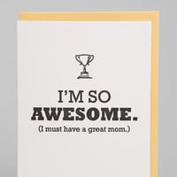 Urban Outfitters - Awesome Mom Card