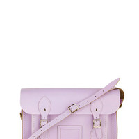 Cambridge Satchel Upwardly Mobile Satchel in Lilac - 13&quot; | Mod Retro Vintage Bags | ModCloth.com