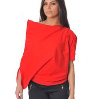 Pietro Garcia Solid Color Off Shoulder Blouse - Pietro Garcia Apparel For Her - Modnique.com