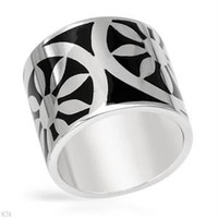Modnique.com -  Sales Events - Ladies Ring Designed In Sterling Silver