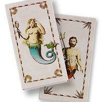PLASTICLAND - Wooden Matches in Mermaid Print Box
