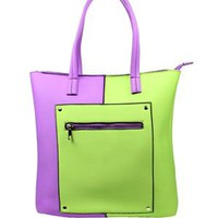Tantra Color-Blocked Tote - Spanish Summer Accessories by Tantra - Modnique.com