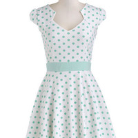 The Story of Citrus Dress in Mint | Mod Retro Vintage Dresses | ModCloth.com