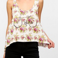 Truly Madly Deeply Cropped Bicycle Tank Top
