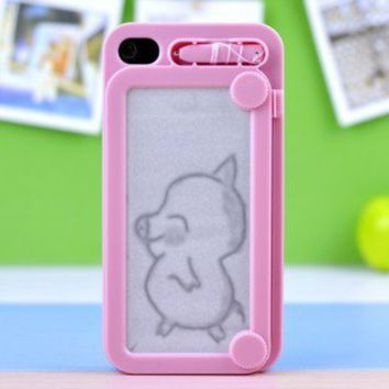 C0reative Drawing protective IPhone 4/4s case cover