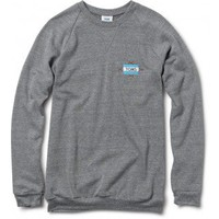 Women&#x27;s Heather Grey Embroidered Crew  | TOMS.com