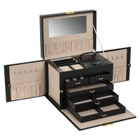 You should see this Heritage Chelsea Jewelry Case in Black on Daily Fair!