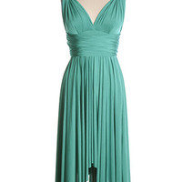 It's Magical Convertible Dress in Emerald - $59.95 : Indie, Retro, Party, Vintage, Plus Size, Convertible, Cocktail Dresses in Canada
