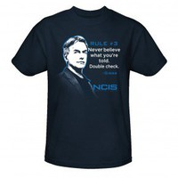 NCIS Gibbs Rule # 3 T-Shirt