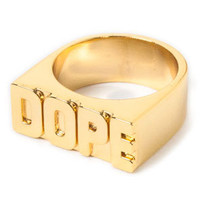DOPE DOPE OneFinger Ring : Karmaloop.com - Global Concrete Culture