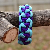 Paracord Bracelet - Lizard Belly Bar Survival Strap 550 Parachute Cord