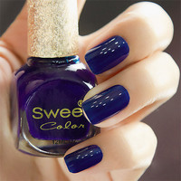 Dark Blue Sweet Color 12 ml Nail Polish