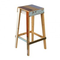 Barstool in Scrapwood High - Furniture + Lighting - Dining