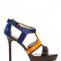 Wysteria Strappy Platform Sandals by Lucy Choi London