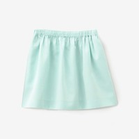Gather round mini skirt