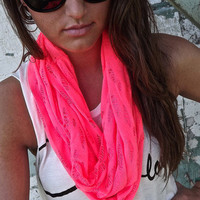 Hot Pink Scarf | The Rage