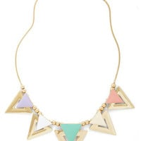 Sweet as Sugar Cone Necklace | Mod Retro Vintage Necklaces | ModCloth.com