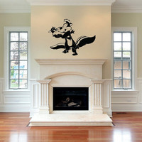 Pepe Le Pew Vinyl Wall decal birthday gifts, mothers day gifts, wedding gifts, bridal party gifts