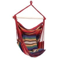 Hanging Rope Chair - Style SPSWING2: Patio, Lawn & Garden