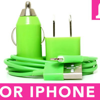 Green iPhone 5 Charger