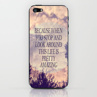 Pretty Amazing  iPhone & iPod Skin by Rachel Burbee