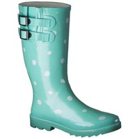 Women&#x27;s Novel Dot Rain Boot - Mint