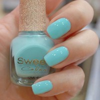 Sky Blue Sweet Color 12ml Nail Polish