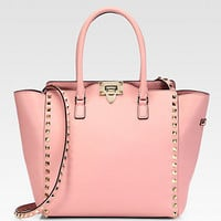 Valentino - Rockstud Top-Handle Bag