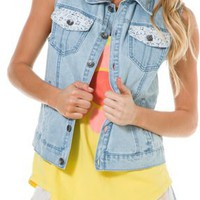 ELEMENT MALEENA DENIM VEST | Swell.com